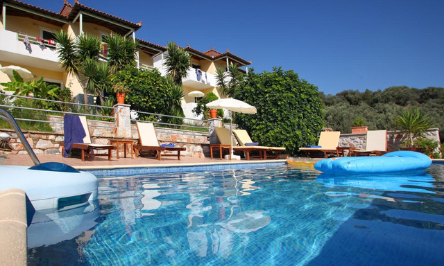 3 Star Liofoto Hotel In Skopelos Greece Located At 37003 1klm Skopelou Stafilou Road 1 6 Miles From The City Center